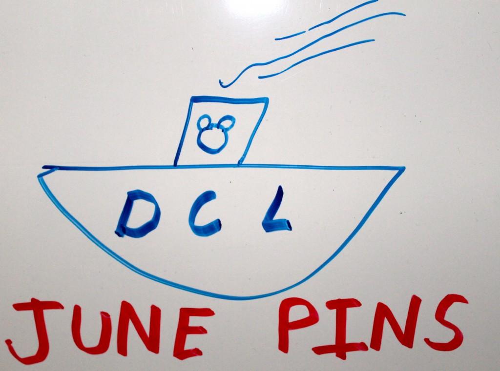 Disney Cruise Line June Pins