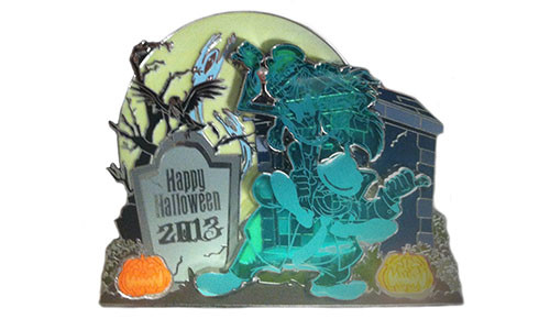 Disney Halloween Jumbo Pin