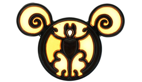 Halloween Disney Bat Pin
