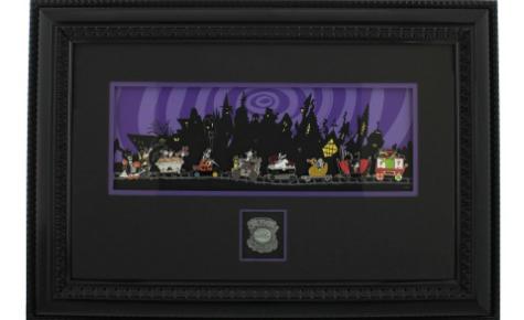 Jack Skellington Framed Pin Set