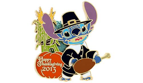 Stitch Thanksgiving Pin