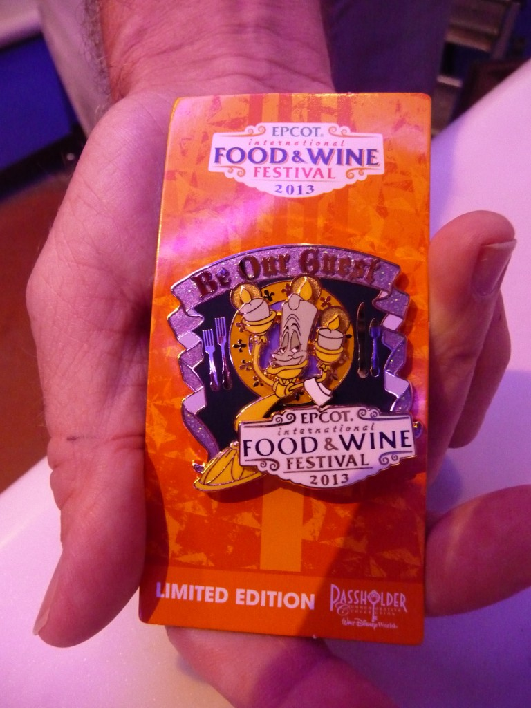 food and wine pins