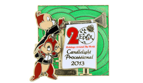 2013 Candlelight Processional Pin