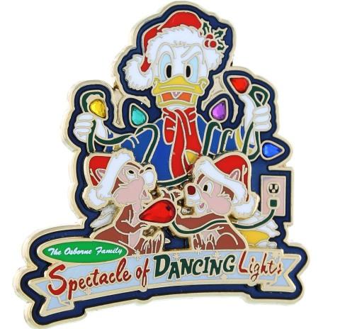 2013 Donald Duck Holiday Pin