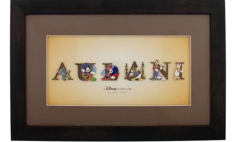 Aulani Pin Set Frame