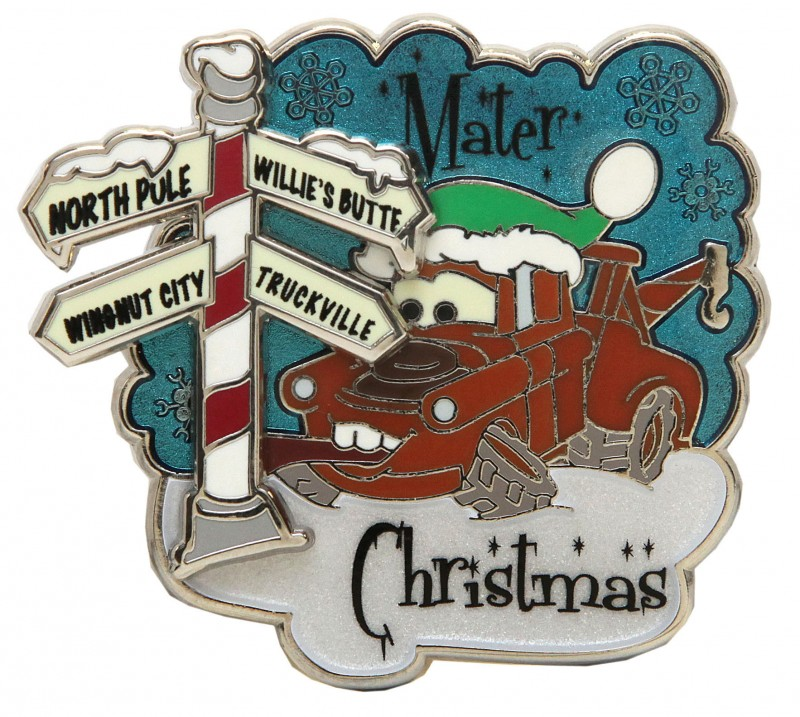 Christmas Mater Pin