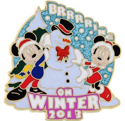 Disney Brrrrrring on Winter Pin