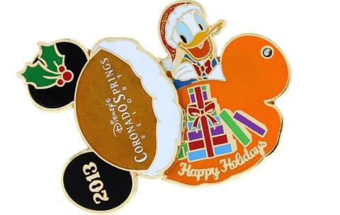 Disney Coronado Holiday Pin