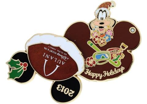 Disney Holiday 2013 Aulani Pin