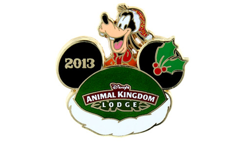 Disney Holiday Animal Kingdom Pin