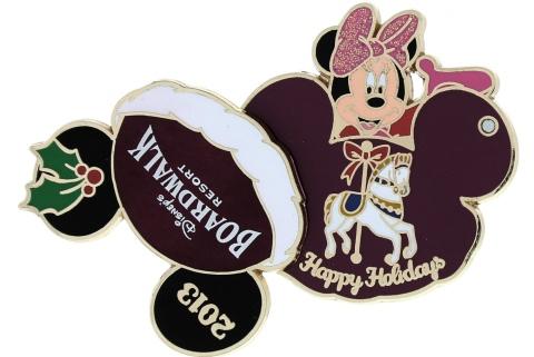Disney Holiday Boardwalk Pin