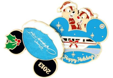 Disney Holiday Contemporary Pin