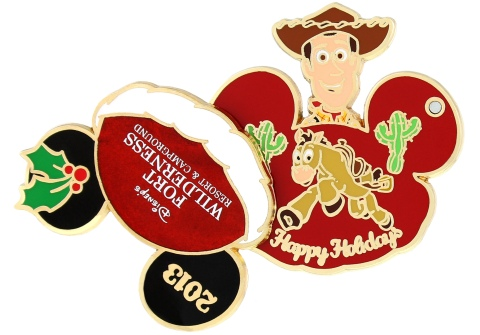 Disney Holiday Fort Wilderness Pin