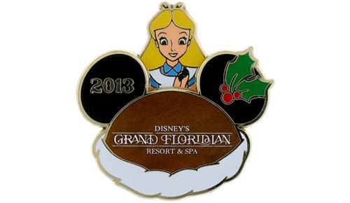 Disney Holiday Grand Floridian Pin