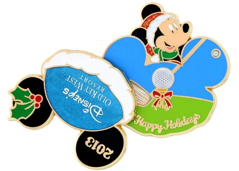 Disney Holiday Old Key West Pin