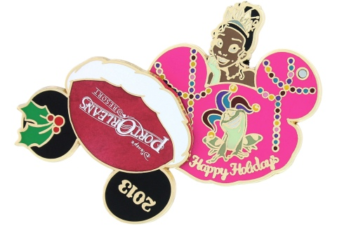 Disney Holiday Port Orleans Pin