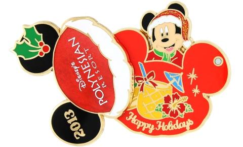 Disney Polynesian Holiday Pin