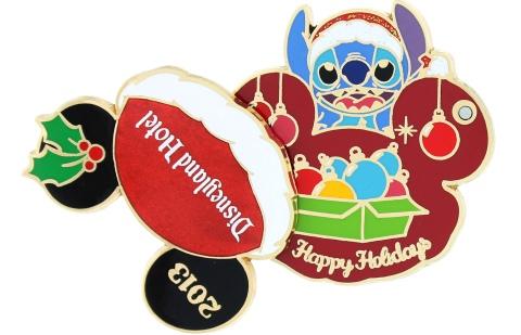 Disneyland Hotel Holiday Pin