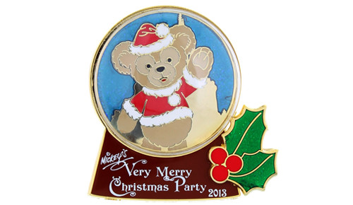 Duffy snow globe pin