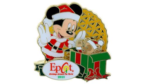 Epcot Holiday AP 2013 pin