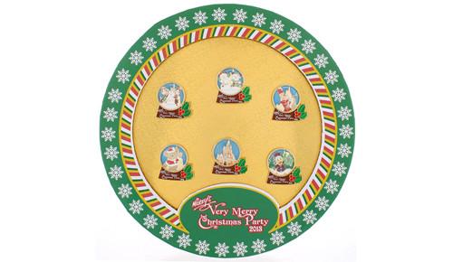 Mickey Christmas Pin Set 2013
