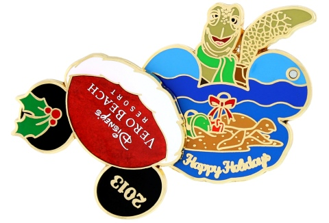 Vero Beach 2013 Holiday Pin