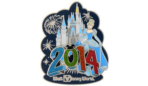2014 Cinderella with Castle pin