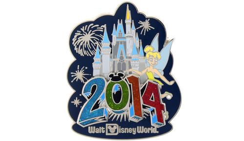2014 Tinker Bell Castle Pin