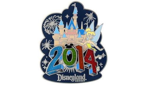 2014 Tinker Bell Castle pin DL