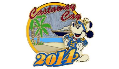 Castaway Cay 2014 Pin