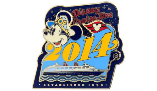 Disney Cruise Line 2014 Pin