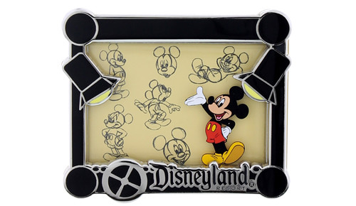 Disneyland Mickey Animation Pin
