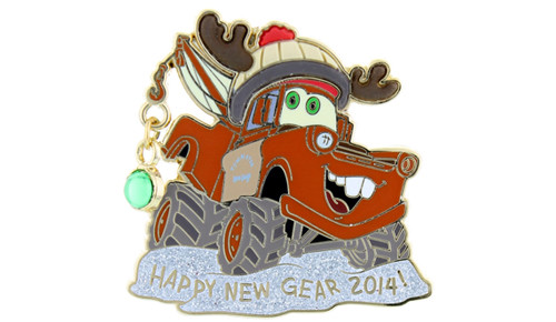 Mater New Year 2014 Pin