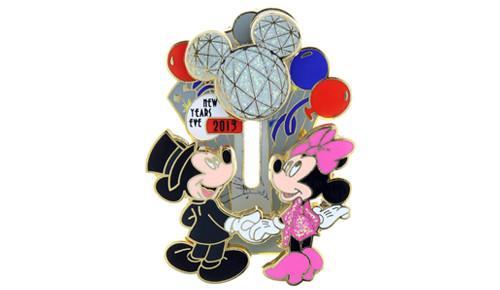 Mickey Icon New Year 2014 Pin