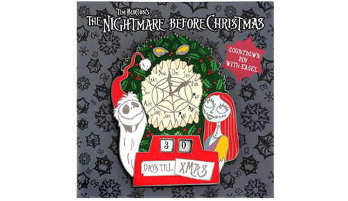 Nightmare Christmas Countdown Pin