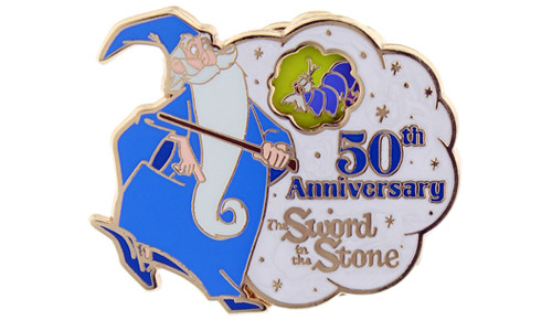 Sword in the stone 50th pin