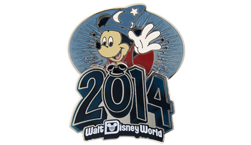 WDW Retro 2014 Pin