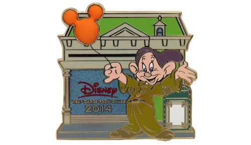 2014 Dopey Disney Visa Pin