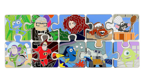Character Puzzle Disney Pins 2014