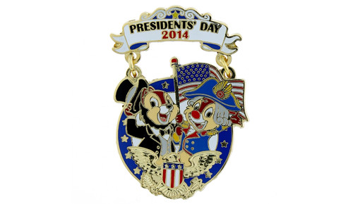 Chip and Dale Presidents Pin