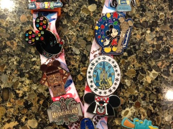 Disney Pin Lanyard 2