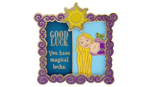 Good Luck Rapunzel Pin