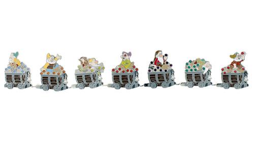 Seven Dwarfs Mystery Pin Set