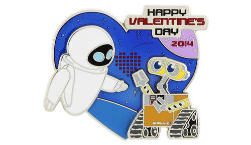 Valentine's Day 2014 Wall-E Pin