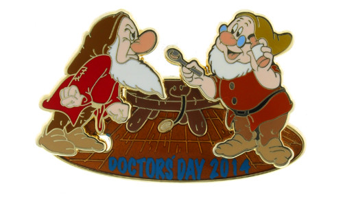 Doctors Day Disney Pin