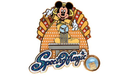 SpectroMagic Mickey Pin
