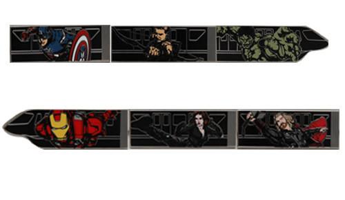 Avengers Monorail Pin Set