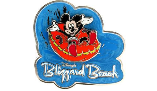 Blizzard Beach Mickey Pin