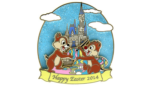 Chip Dale Easter 2014 Pin