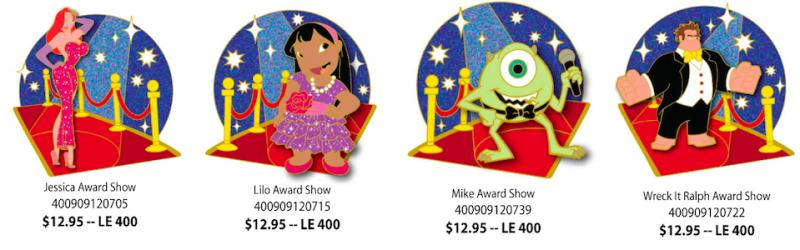 Disney Studio Store March 2014 Pins 1